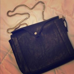 Handbags - Black Shoulder Bag